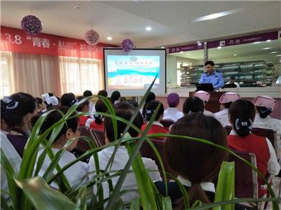 西安华都妇产医院开展火灾培训工作,加强员工消防意识