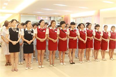 """西安华都妇产医院开展""""推广文明用语·规范服务行为""""培训"""