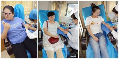 我院公益活动:无偿献血 与爱心同行